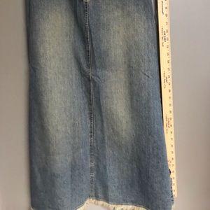 NY Jean Skirt